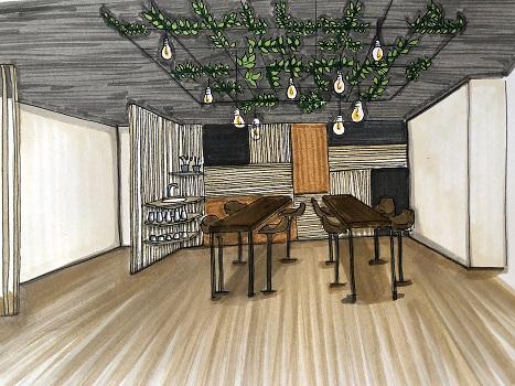 renovation-cafe-bordeaux-croquis-decoratrice