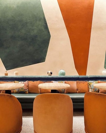 banquette-restaurant-mobilier-orange