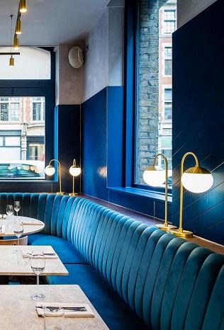 restaurant-bleu-signification-banquette