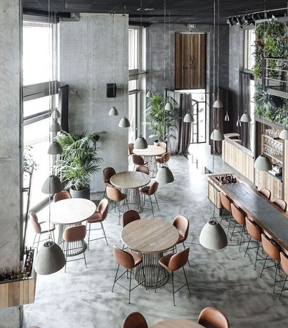 table-bois-mobilier-agencement-restaurant